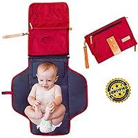 Cambiador Portatil Plegable–De Viaje Para Bebé–Nueva Generación–Impermeable acolchado universal–Colchoneta plegable niño
