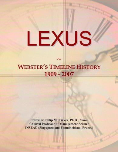 lexus-websters-timeline-history-1909-2007