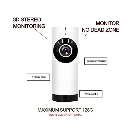 Wireless Überwachung Kamera, Webcam Kamera, 720P HD IP wifi Überwachung Kamera, wireless IP-Kamera Two-Way Audio/Voice Intercom