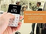 FLYZONE Q5 Lightest Lowest Radiation Slim Credit Card Size GSM Mini Phone (White)