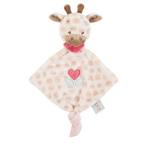 Nattou Charlotte & Rose Kleine Kuscheltuch 655118, Charlotte die Giraffe