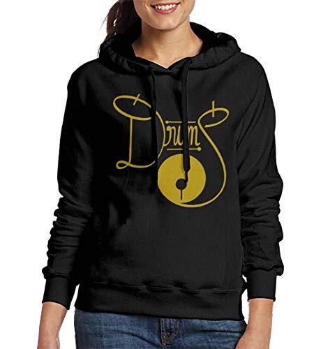 Laura Longman Sweatshirt Hooded The Drums Ii DIY