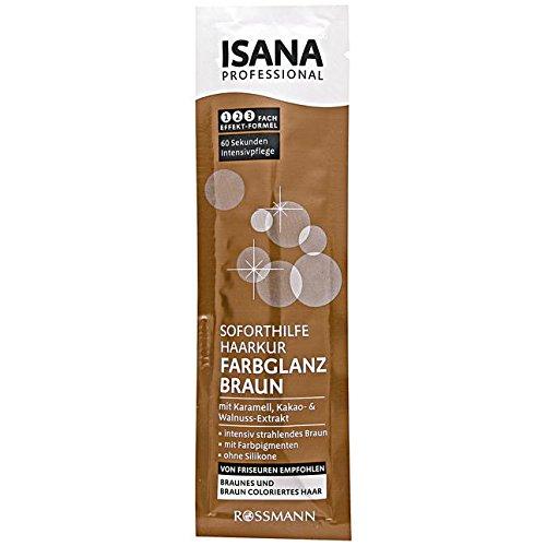 oforthilfe Haarkur Farbglanz Braun 20 ml braunes & braun coloriertes Haar, mit Karamell, Kakao- & Walnuss-Extrakt, intensiv strahlendes Braun, mit Farbpigmenten, ohne Silikone ()
