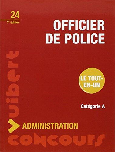 Concours Officier de police - Catégorie A - Tout-en-un