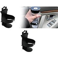 Distinct® Soporte de soporte de taza de botella de bebida de montaje de puerta de camión de coche universal