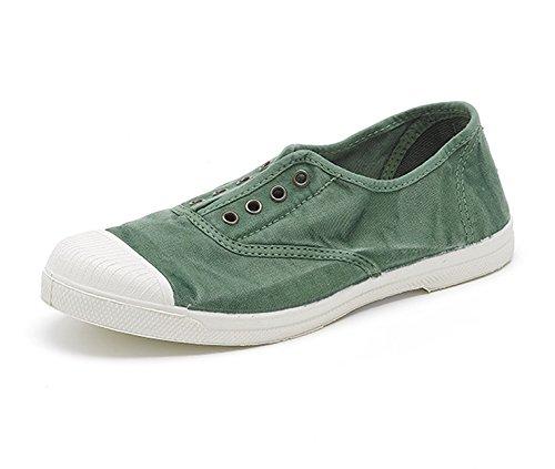 Natural World Eco – Chaussures Baskets VEGAN Tennis Tendance en Tissu pour femmes – Mode – NOUVEAUTÉ - Coloris variés 639