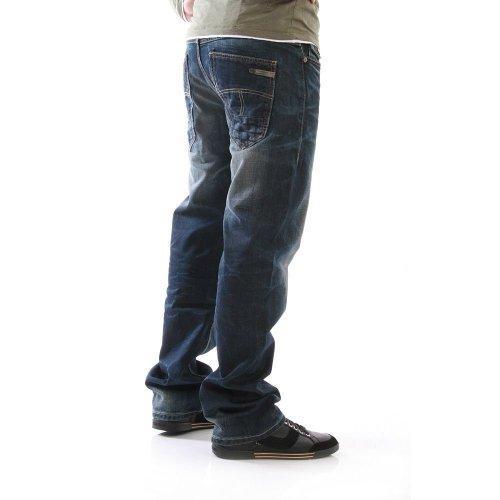 M.O.D 5-Pocket-Jeans Ingo ragged blue