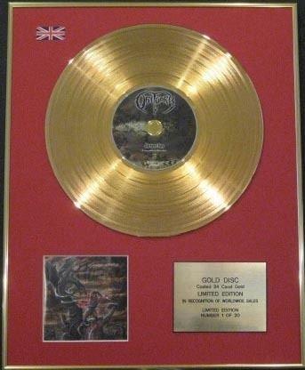 OBITUARY Edtn CD Ltd-Disco in oro 24 ct-DARKEST giorno