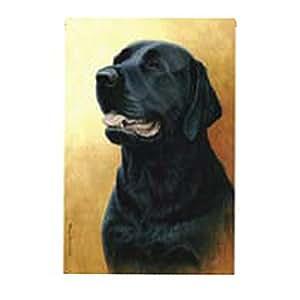 Top Brand Grand drapeau chien Labrador Noir
