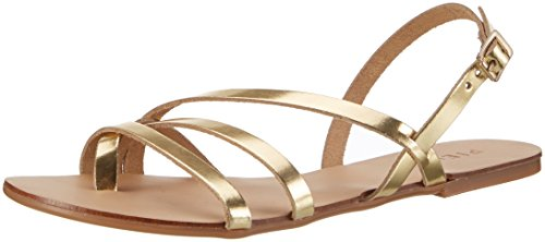 Sandal Gold gold Slingback Pieces Leather Colour Damen Pslavina qqnxrAtv