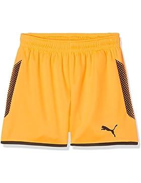 Puma Pantalones cortos para niños de la marca, modelo Gk, primavera/verano, infantil, color fluo orange black,...
