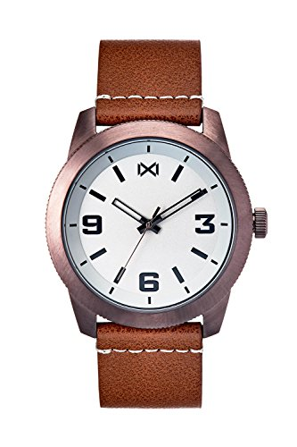Mark Maddox Men's Analogue Quartz Watch with Leather Strap HC0100-15
