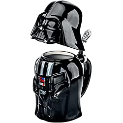 Star Wars SW01637 - Jarra de cerveza, diseño Darth Vader, 25 cm, color negro