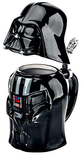 Star Wars SW01637 - Jarra de cerveza, diseño Darth Vader, 25 cm,...