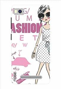 Noise Spring Fashion - White Printed Cover for Xiaomi Mi4I