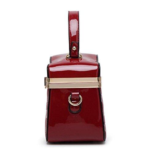Damen Handtasche Schräge Umhängetasche Arzt Tasche Helle Leder Luxus Große Tasche Weide Reißverschluss Reißverschluss Black