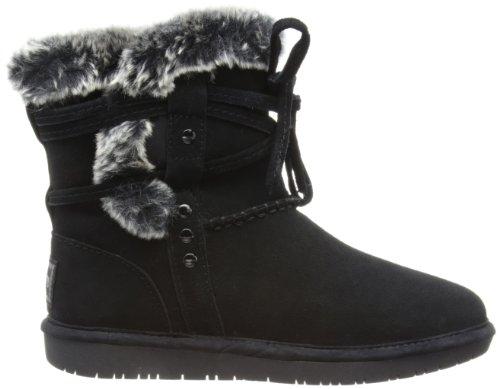 Skechers Shelbys, Boots femme Noir