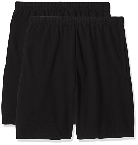 Fruit of the Loom Herren Lightweight Shorts Schwarz (Black)