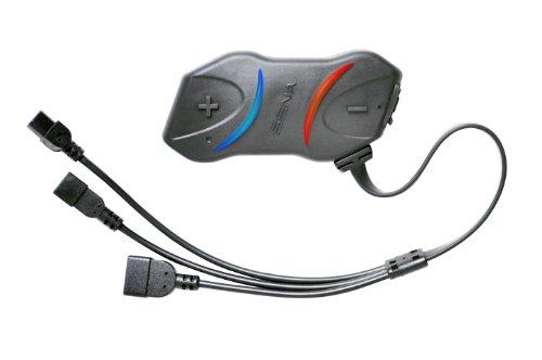Sena SMH10R-01 Platzsparendes Bluetooth-Headset und Gegensprechanlage für Motorräder