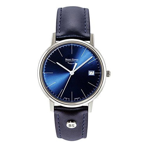 Bruno Söhnle Damen Analog Quarz Uhr mit Leder Armband 17-13176-341