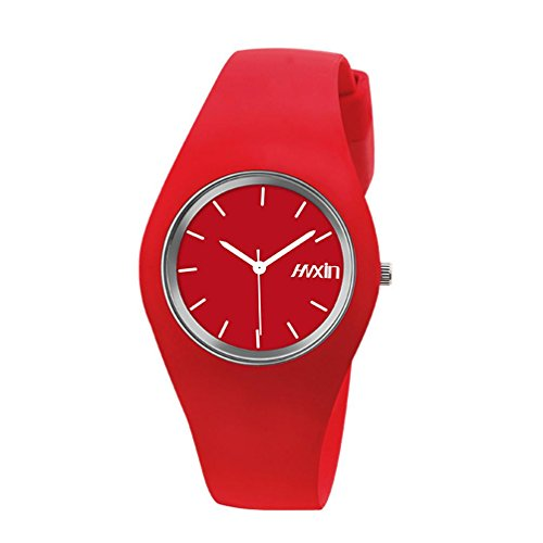 Ultra sottile orologio al quarzo moda della gelatina , 3