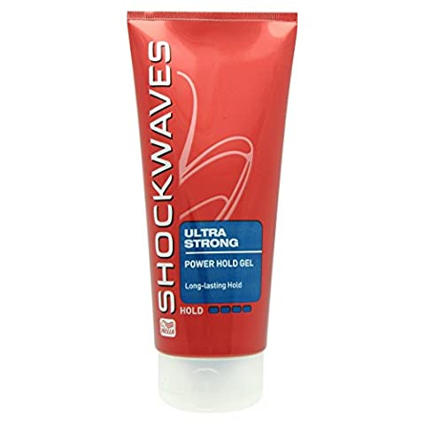 Shockwaves 200ml Styling Gel Ultra Strong Power Hold