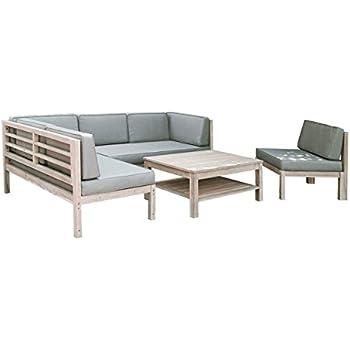Affordable Loungembel Holz Skagen Design Gartenmbel Weitaupe Tlg Loungeset  Outdoor With Garten Loungembel Holz