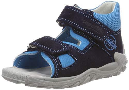 Superfit Baby Jungen Flow Sandalen, Blau (Blau 81), 23 EU