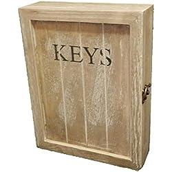 Armario de madera llave
