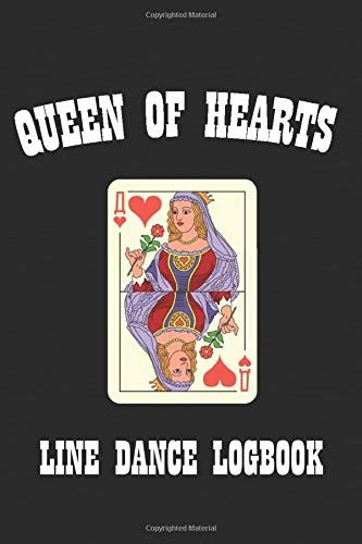 Queen of Hearts: Line Dance Logbook Womens Lady Logger-boot