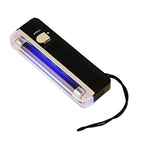 2 in 1 UV Black Light Torch Tragbare Gefälschte Geld Bargeld Detector (Torch Light 2)