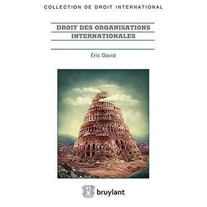 Droit des organisations internationales: Acte constitutif, participation des tats, actes institutionnels