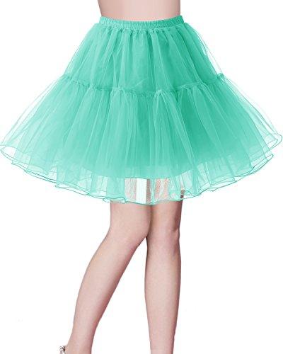Petticoat Rock 1950er Vintage Tutu Ballett Unterkleid Mint XL (Womens Tutu)