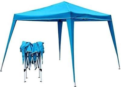 Royal Blau Klapp Falt Pavillion Pavillon Gartenzelt Zelt von D&S Vertriebs GmbH