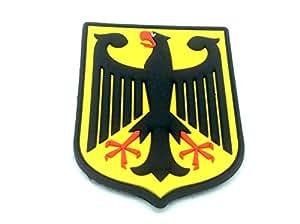 Royale Allemande Aigle Impérial Allemagne Blason Drapeau Airsoft PVC Patch