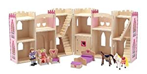 Melissa & Doug Fold & Go Princess Castle by Melissa&Doug by Melissa&Doug