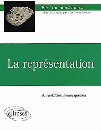 La représentation par Désesquelles Anne-Claire