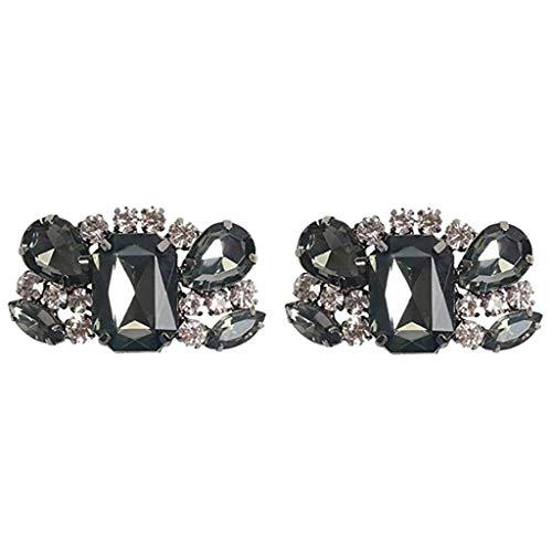 IPOTCH Decoraciones Clip De Zapato Brillo De Diamantes