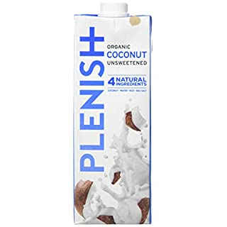 Plenish Organic Coconut Milk (8 x 1 Litre)