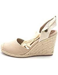 Roxy Womens Bolsa Chica Cotton Closed Toe Casual Espadrille Sandals