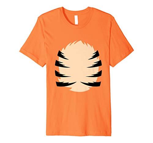 Tiger Kostüm Hemd Lustiges Halloween Hemd für Männer ()
