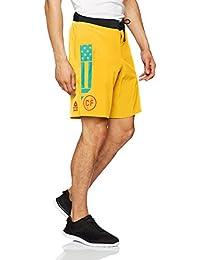 Reebok Rcf Super Nasty Base Pantalón Corto, Hombre, Naranja (Firspa), L
