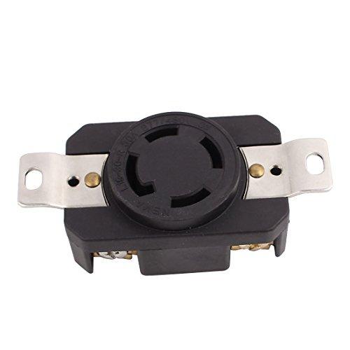 DealMux 277V / 480V 30A 4 US Buchse 3 Phase Power-Zuhaltung Receptacle Generator Outlet - 480v 30 Amp