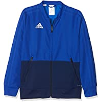 Adidas CF3709 Chaqueta, Unisex Niños, Blanco Claro/Azul, ...