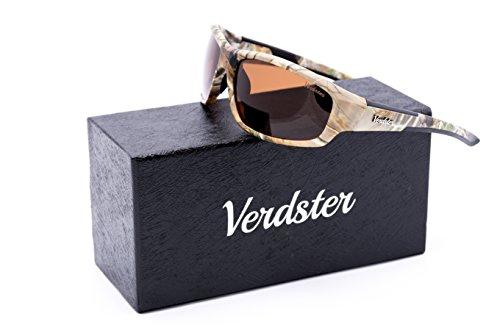 Oferta Del Día   Verdster TourDePro camuflaje gafas de sol polarizadas para hombres y mujeres   Deportivo Gafas   Marco de protección UV   irrompible   Pack de equipo   gran para la conducción, pesca, Ciclismo, Esquí, Snowboard, equitación