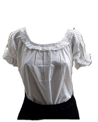 Inter Moden Steampunk - Damen Gothic Bluse Liliana XL
