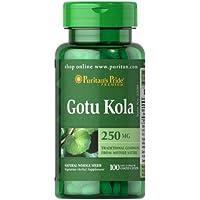 Puritan's Pride Gotu Kola 250mg (100 Tabletten) preisvergleich bei billige-tabletten.eu