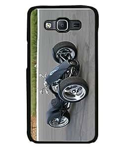 PrintVisa Designer Back Case Cover for Samsung Galaxy On7 Pro, Samsung Galaxy On 7 Pro (2015) (Motorcycle Trike Three Classic Accelerate Automotive Beautiful Bike)