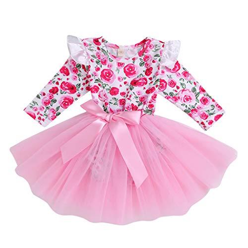 Mädchen Newborn 1. Geburtstag 3 Stück Outfits Strampler -