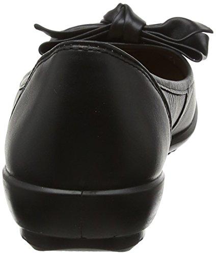 Hotter Ladies, Scarpe da barca donna nero Black 36.5 Black (Black)